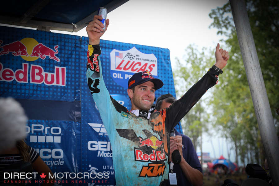 Ryan Dungey grabs another win.