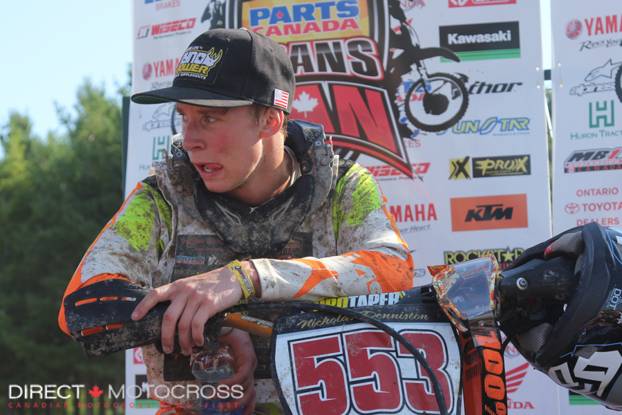 MX1 Junior #553 Nick Denniston 2-2-1