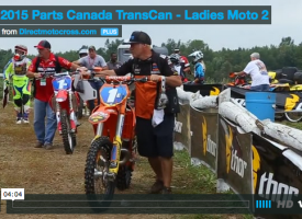 Video: Parts Canada TransCan – Women's Moto 2