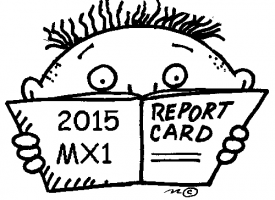 2015 MX1 – Report Card