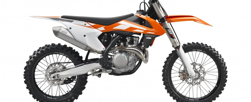 2016 KTM 450 SX-F Test Ride