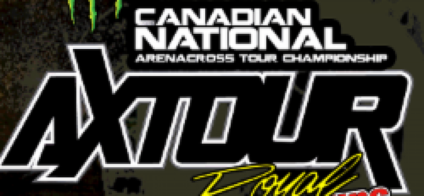 Animated Track Map for Rounds 3-4 of Canadian National AX Tour in Sarnia