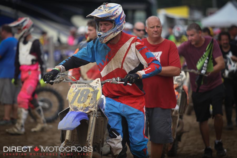#781 Jared Thornton: 450B 8th, 2-Stroke B/C 4th.