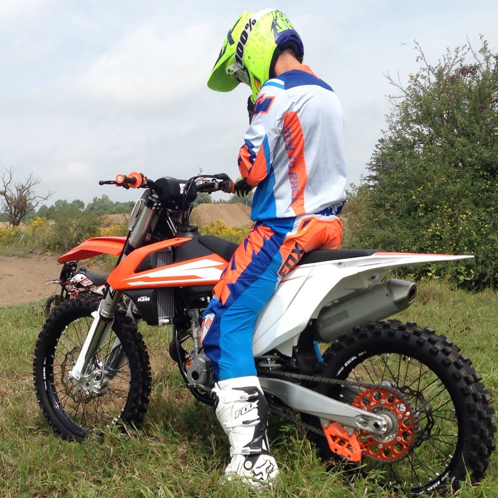 Jeff got to try the 2016 KTM 350 SXF this week. - KTM photo