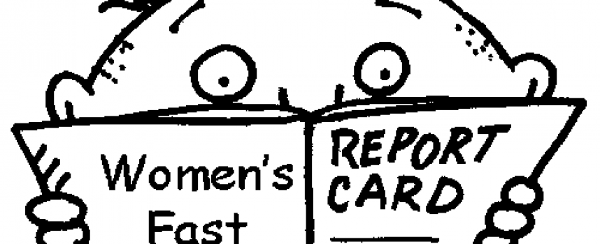Women's East – Report Card