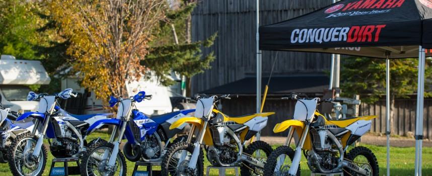 2016 Yamaha Off-Road Press Day at Motopark
