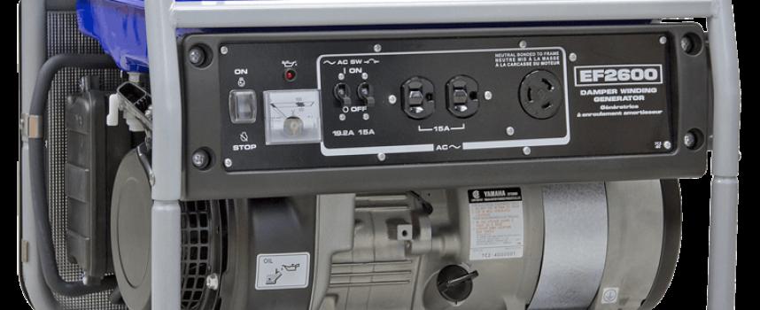 25 Days of Christmas – Day 2: Yamaha EF2600C Generator