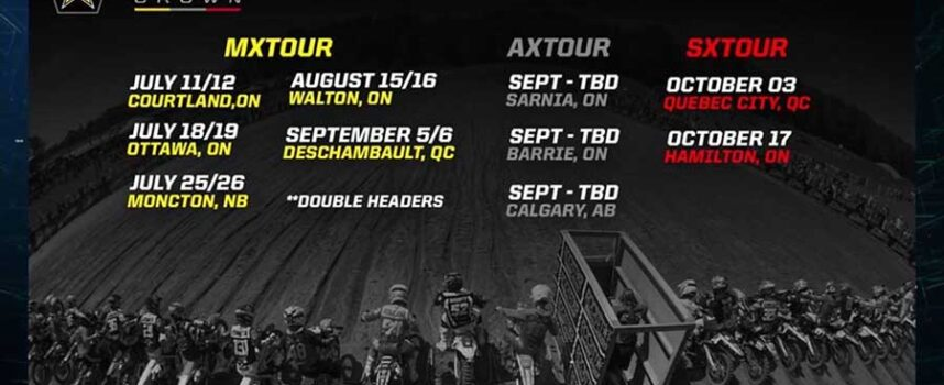 2020 Rockstar Triple Crown Tour Schedule (May)